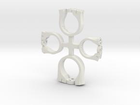 Phi Theta Kappa Ring Set in White Natural Versatile Plastic