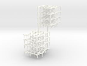 1:32 Zinkenfelder in White Processed Versatile Plastic: 1:32