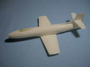 Douglas Skystreak 1/48 scale in White Natural Versatile Plastic