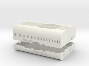 OrangePiPlus2E_Round_Edge_Case_Full in White Natural Versatile Plastic