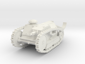 1/72 Ford 3-ton M1918 tank in White Natural Versatile Plastic