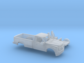 1/200 2017 Ford F-Series Reg Cab Long Bed Kit in Smooth Fine Detail Plastic