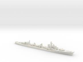 IJN DD Shimakaze [1943] in White Natural Versatile Plastic: 1:1800