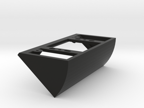 Ring Doorbell Angle Bracket/Wedge 40Right in Black Natural Versatile Plastic