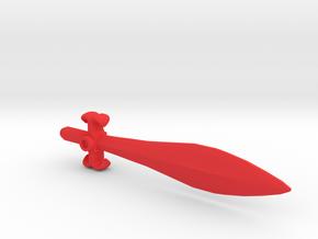 G1 Style Sword for PotP Slug/Slag in Red Processed Versatile Plastic