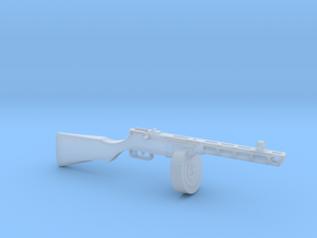 PPSH 41 1:18 scale in Smooth Fine Detail Plastic: 1:18