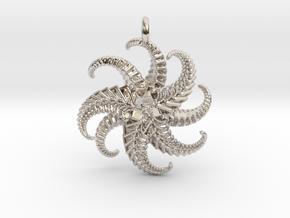 IF Starfish in Rhodium Plated Brass
