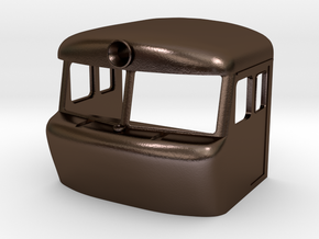 T478.1003 - 1007 CAB in Polished Bronze Steel: 1:87 - HO