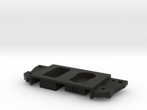 Single switch left in Black Natural Versatile Plastic