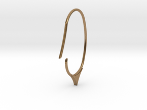 Hoop small size (SWH7a) in Natural Brass