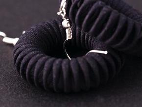 TORUS - earrings in Black Strong & Flexible