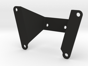 Yamaha MT-07/FZ-07 Dash relocation (2015-2017) in Black Natural Versatile Plastic