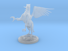 Griffin Figure in Smooth Fine Detail Plastic