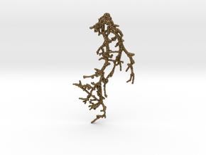 BRANCH_pendant_01 in Natural Bronze