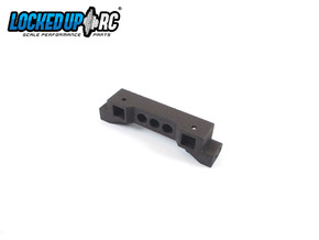 TRX4 Bumper Mount ZeroH 7.0V in Black Natural Versatile Plastic