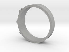 Flowerring in Aluminum: 1.5 / 40.5
