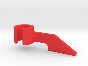 Drill Press Depth Flag in Red Processed Versatile Plastic