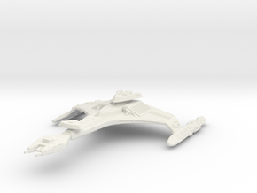 2500 Klingon Vor'Cha class in White Natural Versatile Plastic