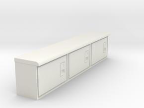 Rockin H Service Bed Cabinets in White Premium Versatile Plastic