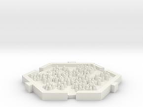 Bosque in White Natural Versatile Plastic