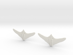 1:600 Horten 229  (Pack of 2) in White Natural Versatile Plastic