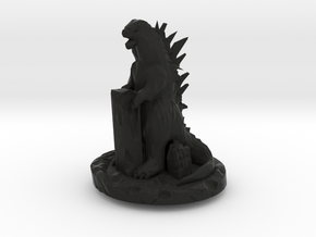 Godzilla Cherry MX Keycap in Black Premium Versatile Plastic