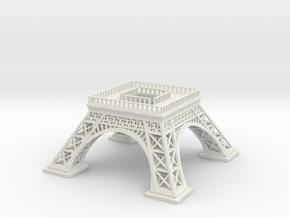 Eiffel Tower (Test acc) in White Natural Versatile Plastic