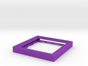 CD Frame Rain 1 in Purple Processed Versatile Plastic