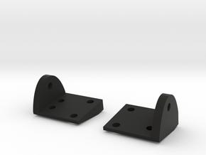 SCX10 Leaf Spring Plates in Black Natural Versatile Plastic