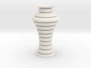 Vase 1894 in White Natural Versatile Plastic