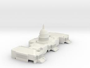 US_Capitol_Building (Test Acc) in White Natural Versatile Plastic