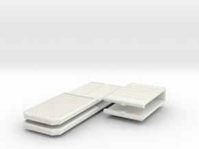 Mechanical Money Clip in White Natural Versatile Plastic