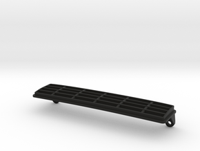 blackfoot_grille_4cm in Black Natural Versatile Plastic