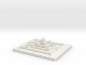 Angkor_Wat (Test Acc) in White Natural Versatile Plastic