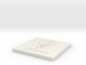 Persona 5 'Take Your Time' Themed Coaster  in White Natural Versatile Plastic