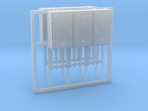 SJ Signalverteiler 3Türig rechtsanschlag 2erSet -  in Smooth Fine Detail Plastic