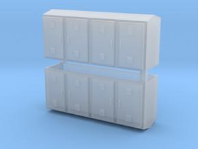 SJ Schaltschrank für Bahnübergang 2erSet - TT 1:12 in Smooth Fine Detail Plastic