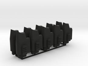 WE Tech G17 GBB Part G64 - Magazin Follower 10x in Black Natural Versatile Plastic