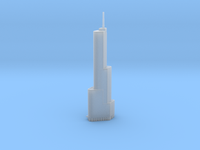 Trump Tower - Chicago (1:4000) in Smooth Fine Detail Plastic