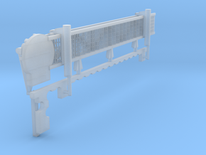 1:96 scale Walkway - Starboard - Long in Smooth Fine Detail Plastic