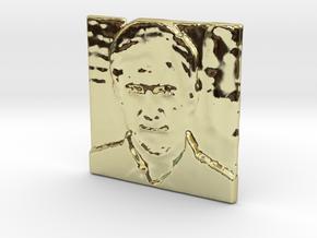Actor James R. Henry in 18k Gold