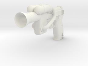 VTTBS Sonic Gun in White Natural Versatile Plastic