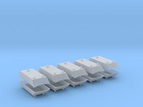 Dachaufsatz Hochdach 3RUK für Roco VW T4 10erSet - in Smooth Fine Detail Plastic