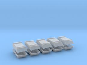 Dachaufsatz Hochdach 2 Balken für Roco VW T4 10erS in Smooth Fine Detail Plastic