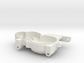 TEAM C 3/4 gear Laydown RH Case in White Natural Versatile Plastic