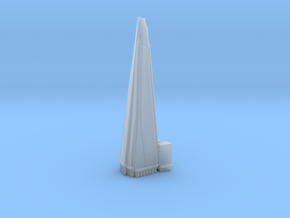 The Shard - London (1:4000) in Smooth Fine Detail Plastic