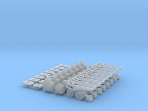 1/64 7200 Series Row Units, 8 pack, No-till in Smooth Fine Detail Plastic