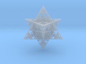 Sierpinski Merkaba II 16 cm (downloadable) in Smooth Fine Detail Plastic