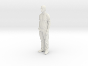 Printle C Homme 028 - 1/30 in White Natural Versatile Plastic