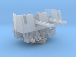 1/144 USN 40mm Quad Bofors shielded in Smooth Fine Detail Plastic